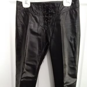 (NWOT) Danier Leather Laced Pants